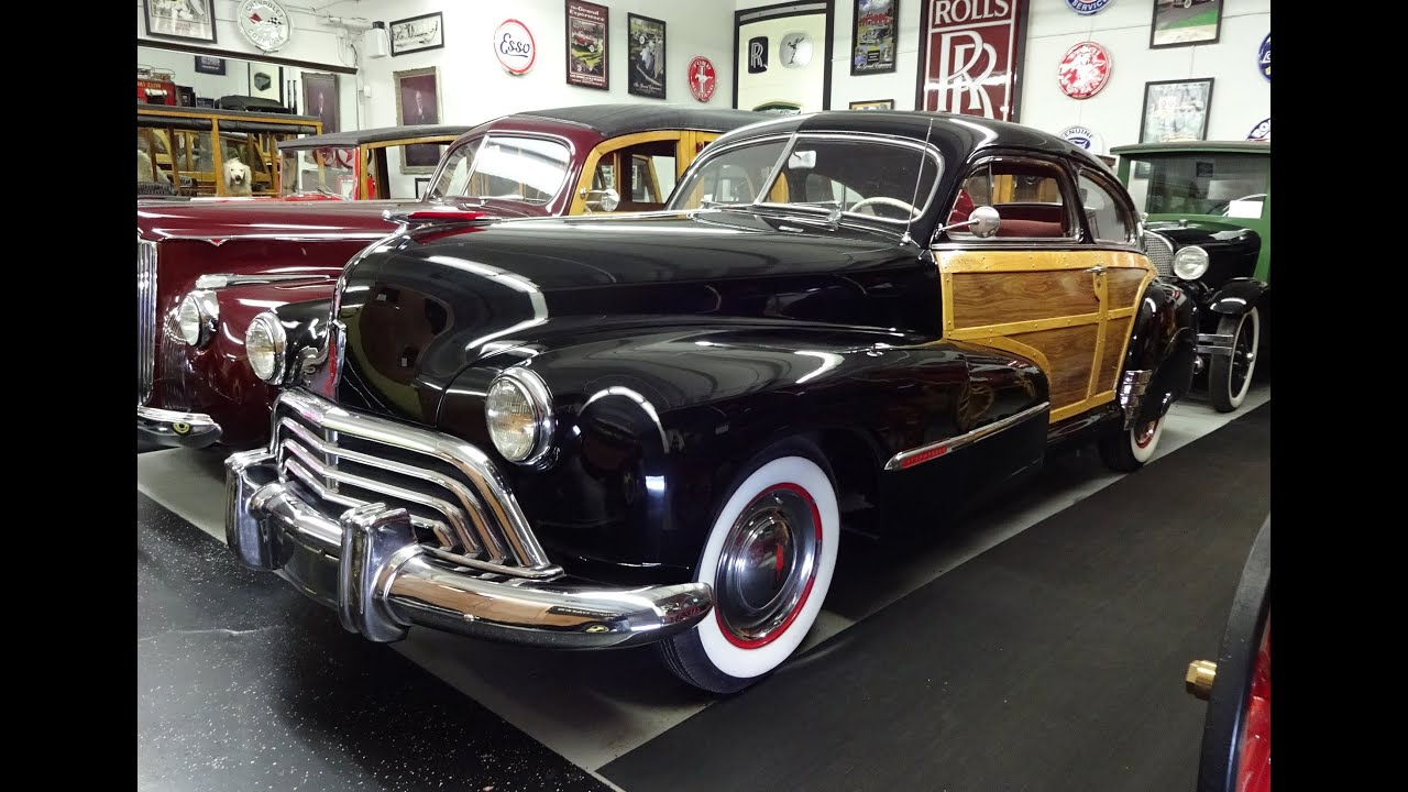 2016 Cadillac Convertible >> 1947 Oldsmobile Olds Series 66 Sedan Woodie @ Klairmont ...