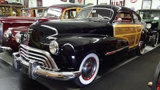 1947 Oldsmobile Olds Series 66 Sedan Woodie @ Klairmont Kollections My Car Story with Lou Costabile