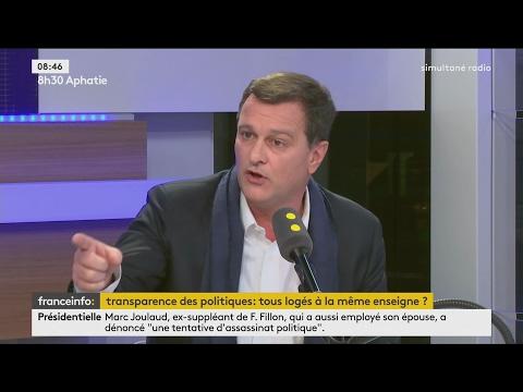 Interview de Louis Aliot sur le Penelope Gate et le FN (France Info, 07/02/17, 8h30)