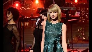 Taylor Swift - Welcome To New York (Late Show with David Letterman)