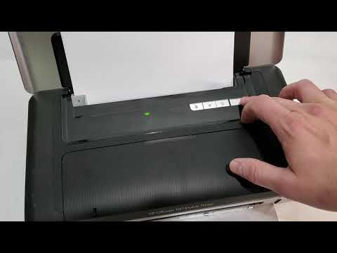 how-to-print-test-page-on-hp-officejet-100-mobile-printer-check-battery-and-ink-levels