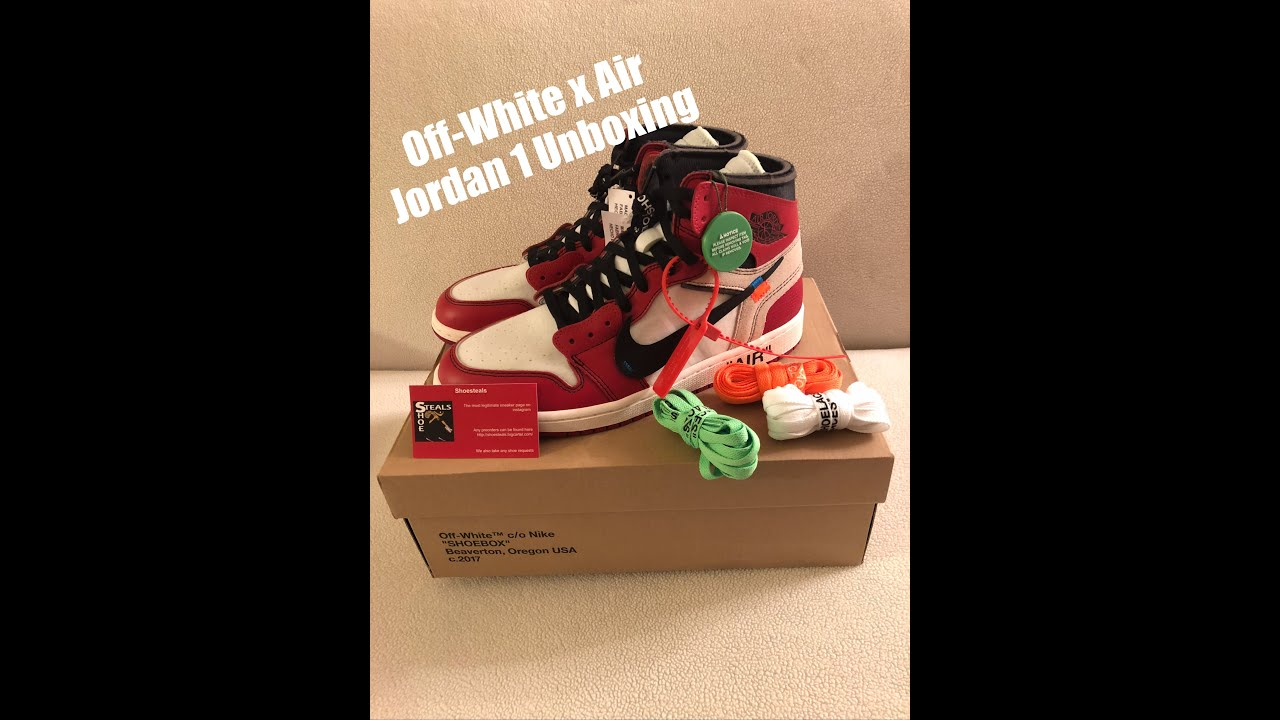 9307e077 Please Share StockX rant & Off-White x Air Jordan 1 The 10 Unboxing &  Drawing Win