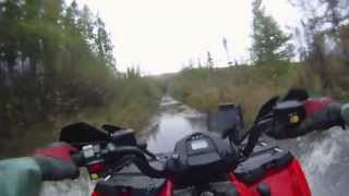 ATV and Dirt Bikes get COVERED in MUD!