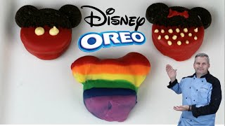 Disney Oreo Cookies  Mickey Mouse Oreo Cookies &amp Rainbow Mickey