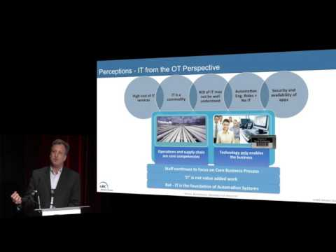 IT-OT Convergence: Linking Legacy To An IIoT World - Craig Resnick, ARC