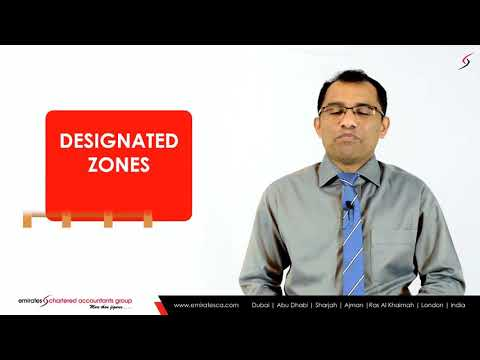 UAE VAT Law _ How VAT is Applicable to UAE Designated Zones_ -CEO, CA Manu Nair