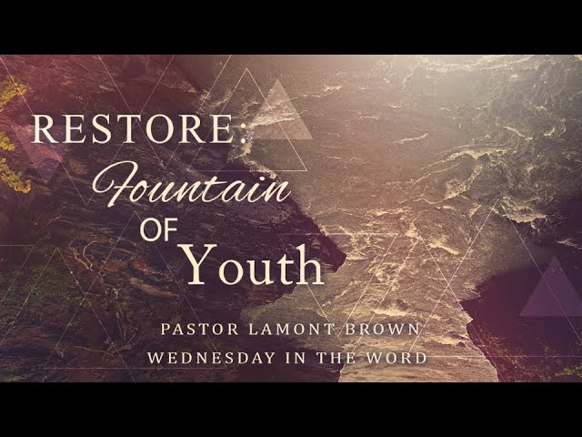 Wednesday In The Word   March 17th   Pastor Lamont Brown   Faith Baptist Tabernacle