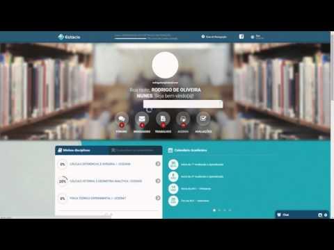 Estácio EAD - Atualizando a Aula Online. from YouTube · Duration:  1 minutes 2 seconds