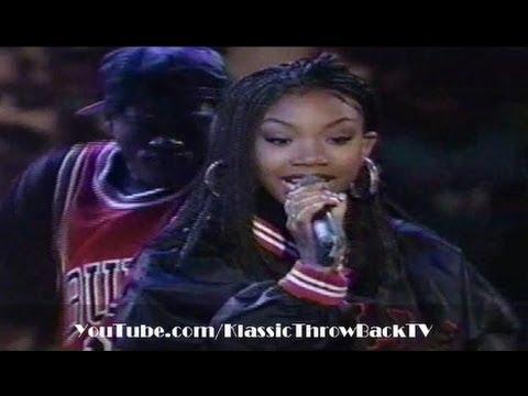 "Brandy - ""I Wanna Be Down"" Live (1995)"