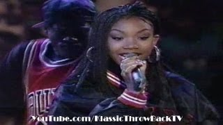 "Brandy - ""I Wanna Be Down"" Live (1995)"