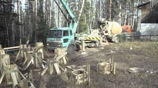 буронабивной фундамент с ростверком(Компания ООО