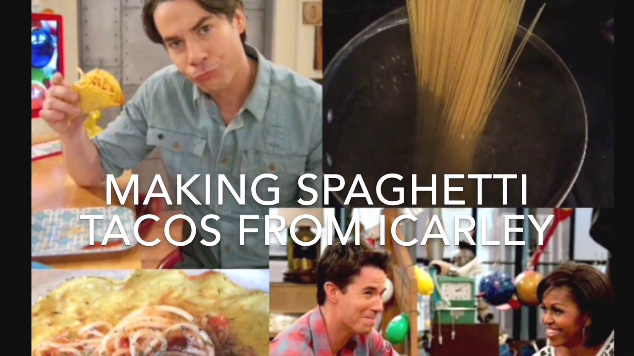 Making Spaghetti Tacos From Icarly Youtube