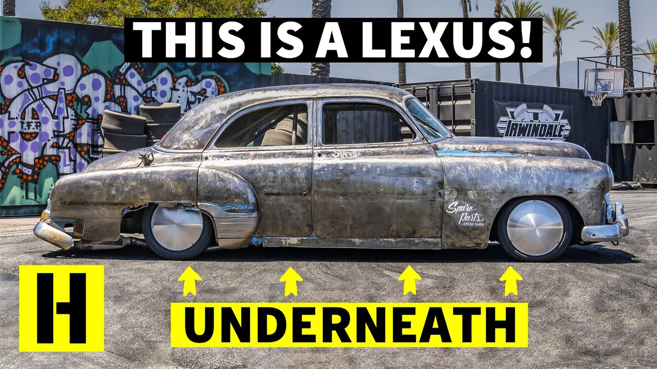 1951 Chevy / Lexus LS400 Chassis Swap ~ Greatest $1,500 Ever