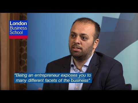 Why be an entrepreneur rather than an employee?   London Business School
