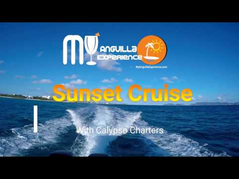 Sunset Cruise with Calypso Charters Anguilla