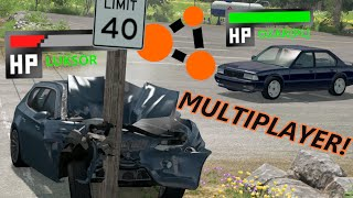 BeamNG.drive Multiplayer (#1) - REAL MULTIPLAYER TEST!