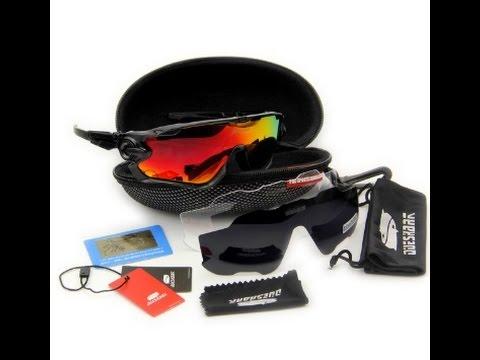 5c2cb9a572e5a Oculos queshark preto lente vermelha 3 lentes. - YouTube