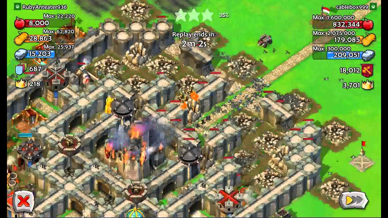 Age of Empires: Castle Siege Joan/Martel Attack
