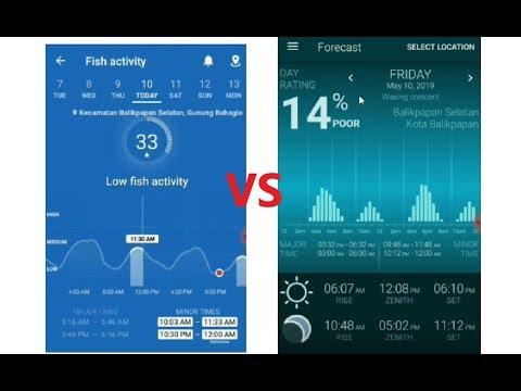 Aplikasi Mancing Fishing Point Dan Fishing And Hunting Solunar Time