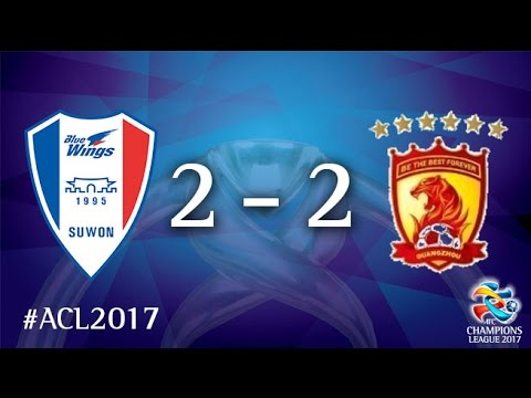 Suwon Samsung Bluewings vs Guangzhou Evergrande (AFC Champions League 2017: Group Stage - MD2)