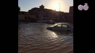 أخبار اليوم | السيول تحول محافظات مصر الي انهار