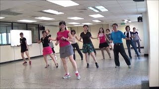 Rock Around The Clock - line dance = 搖滾時鐘 - 排舞