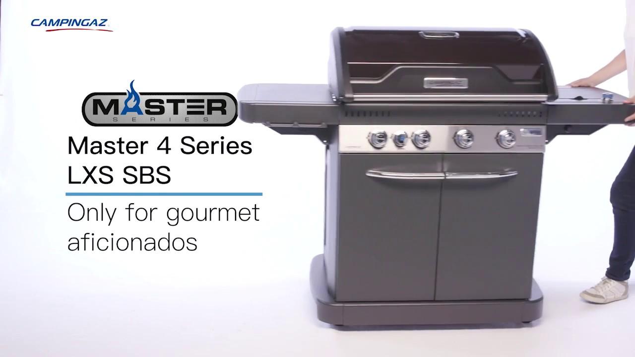 Ultiem barbecuegenot: de Campingaz Master 4 Series Classic