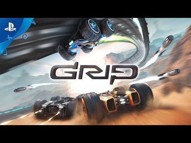 GRIP: Combat Racing - Launch Trailer | PS4