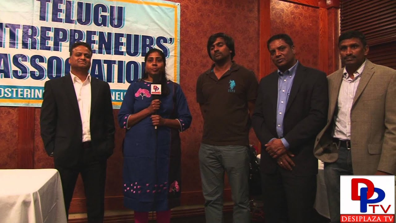 Mrs.Pallavi Thotakura from Telugu Entrepreneurs Association(TEA) speaking to Desiplaza TV