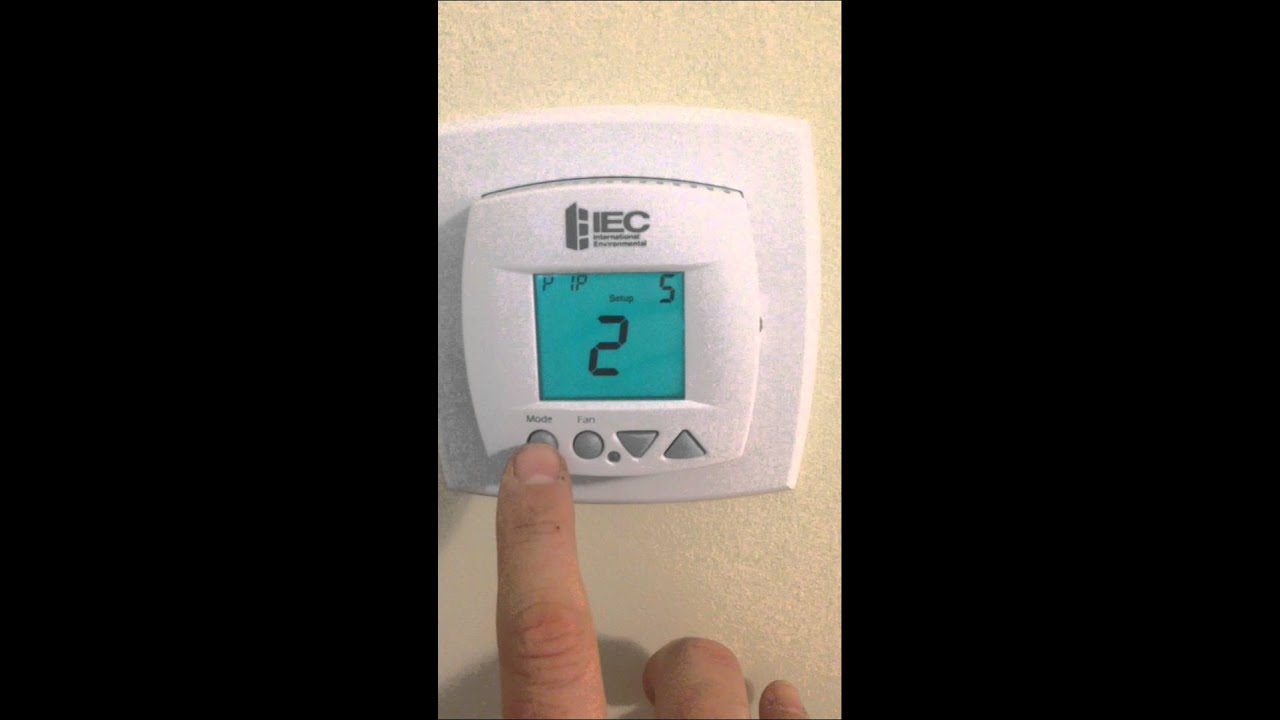 How To Change Your Thermostat
