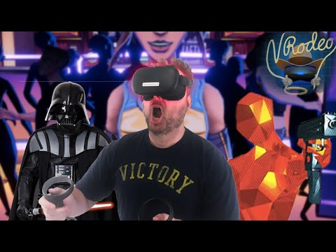 Oculus Quest: VR With No Strings Attached (VRodeo)