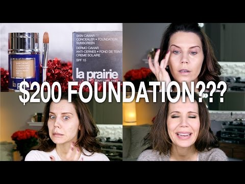 $200 FOUNDATION WTF? | First Impressions