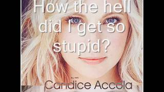 Watch Candice Accola Our Break Up Song video