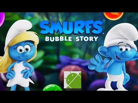 Smurfs Bubble Story - Android Gameplay HD