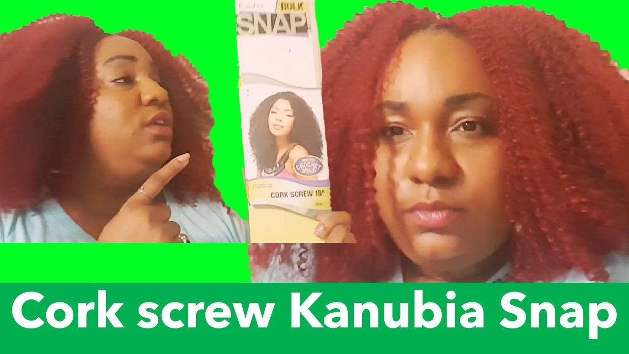 How To Do A Red Curly Fro Kanubia Snap