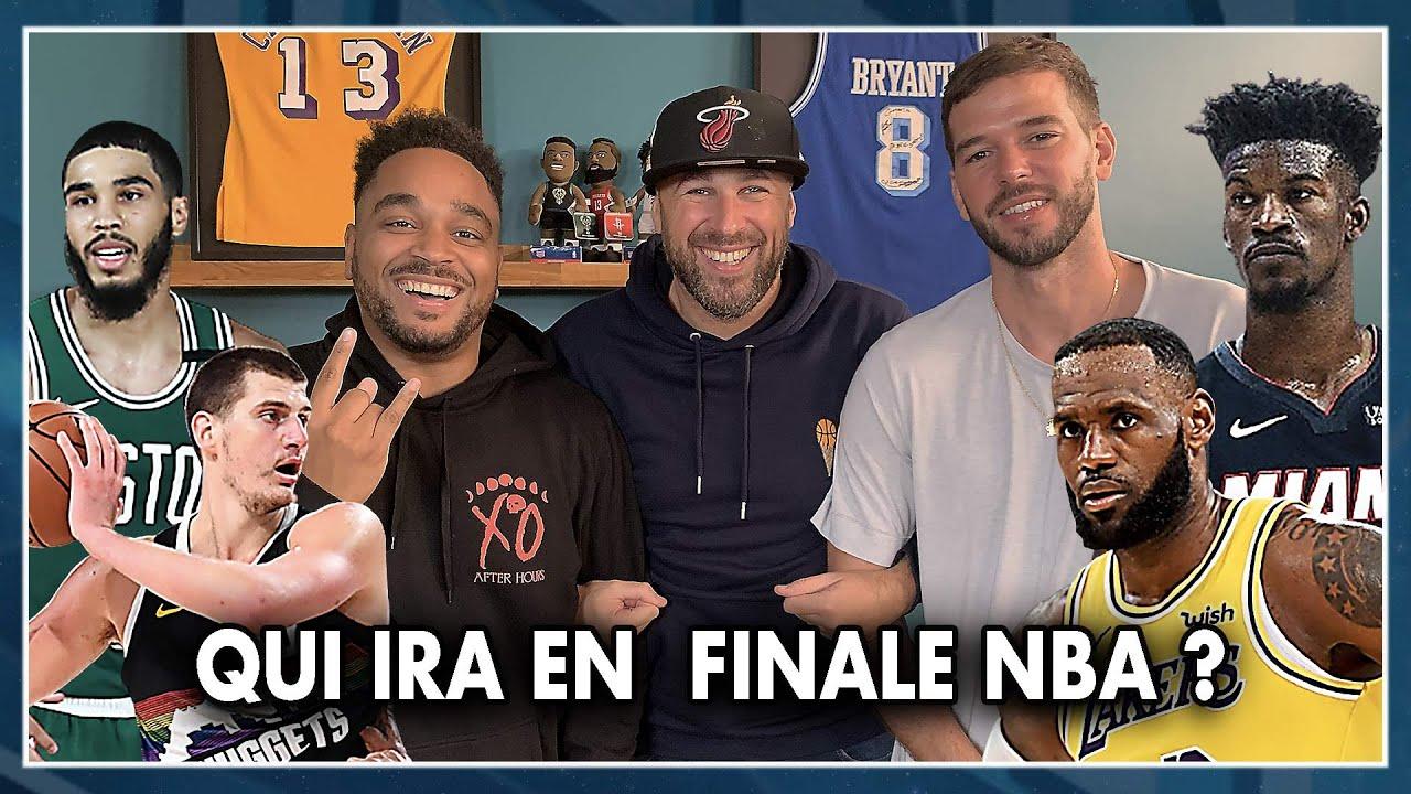 LAKERS, NUGGETS, HEAT, CELTICS : QUI IRA EN FINALE NBA ? NBA First Day Show #105
