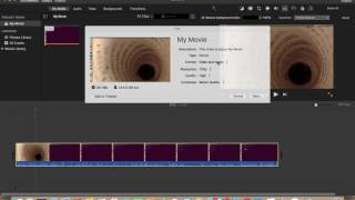 How To Save and Export Video File In iMovie 2019