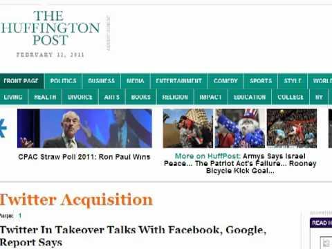Seo copywriter shows how Huffington Post uses Seo
