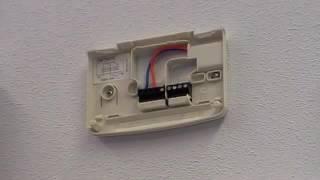 Chronotherm thermostaat verwijderen | Honeywell Home