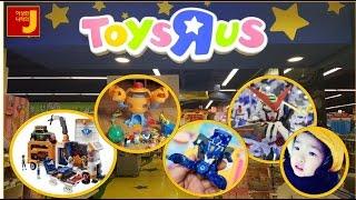 [원더키즈TV]토이저러스 맛보기 - 재이와 지수가 토이저러스에 장난감을 사러 갔어요.