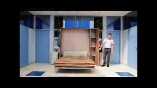 Диван-кровать трансформер(TRANSMEB.ru о правильном управлении пространством в малогабаритной квартире. Видео о том, как двухместный диван,..., 2015-03-12T16:09:06.000Z)