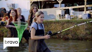 rhod the dallas ladies go fishing and its hilarious season 2 episode 5 bravo