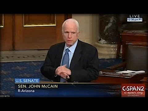 OH MY GOD! WHAT MCCAIN DID TO RAND PAUL ON THE SENATE FLOOR LAST NIGHT SHOULD GET HIM FIRED!