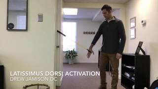 Richmond VA Chiropractor - Latissimus Dorsi Activation