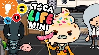 Toca Life: Minis (Toca Boca) ★ Episode 29 ★ Ice Cream Man ★ Super Hero Follies