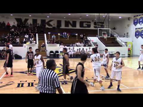 SAMOHI JV Basketball vs Beverly Hills / Jan 23 2015