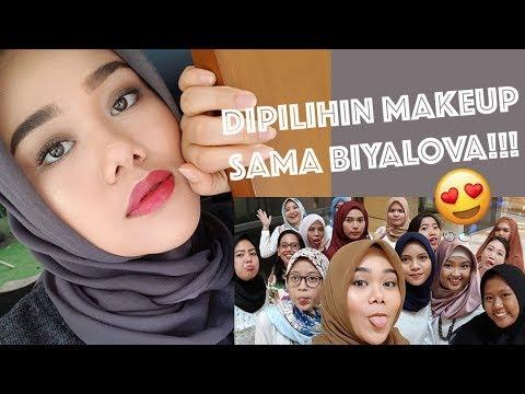 DIPILIHIN MAKEUP SAMA BIYALOVA!!! (70% EMINA) | FATYABIYA