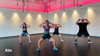 HIGH Fitness Abs Song #14