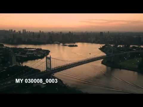 NEW YORK, TRIBOROUGH Bridge, AERIAL