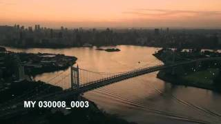 NEW YORK, TRIBOROUGH Bridge, AERIAL